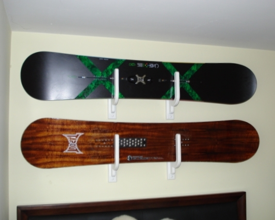 Snowboard Wall Rack