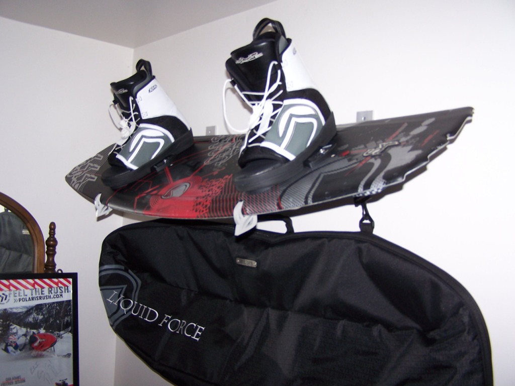 Wakeboard Wall Rack